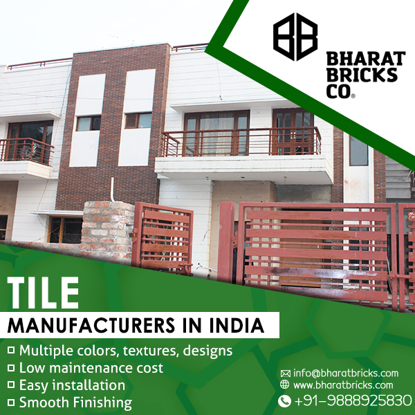 Top Exposed Brick Tiles Manufacturers in India